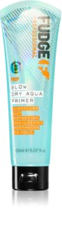 Fudge Prep Blow Dry Aqua Primer Thermo-Protective Serum To Smooth Hair