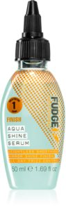 Fudge Finish Aqua Shine Serum siero lisciante per capelli brillanti e morbidi