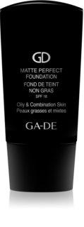 GA-DE Matte Perfect matující make-up pro normální a mastnou pleť SPF 18