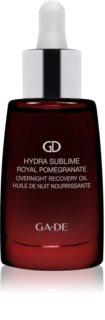 GA-DE Hydra Sublime Royal Pomegranate хидратиращо ревитализиращо олио за нощ