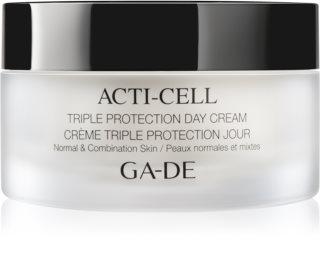 GA-DE Acti-Cell creme com triplo efeito para pele normal a mista