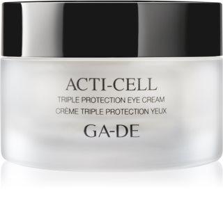 GA-DE Acti-Cell cremă cu efect triplu zona ochilor