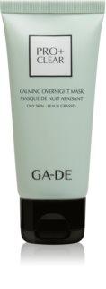 GA-DE Pro+Clear nočná maska pre mastnú pleť