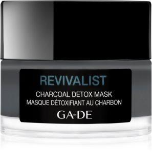 GA-DE Revivalist čisticí a detoxikační maska s aktivním uhlím