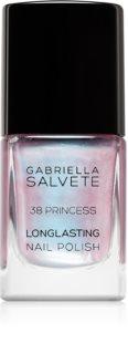 Gabriella Salvete Longlasting Enamel lac de unghii cu rezistenta indelungata cu particule stralucitoare culoare 38 Princess 11 ml