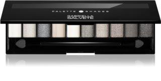 Gabriella Salvete Eyeshadow 10 Shades Palette Palette mit Lidschatten inkl. Spiegel und Pinsel