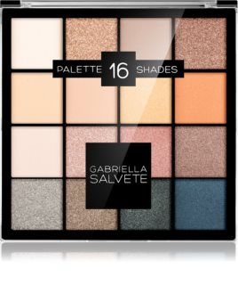 Gabriella Salvete Eyeshadow 16 Shades Palette paleta cieni do powiek