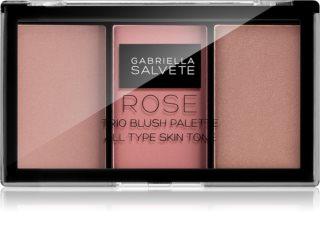 Gabriella Salvete Trio Blush Palette palette di blush