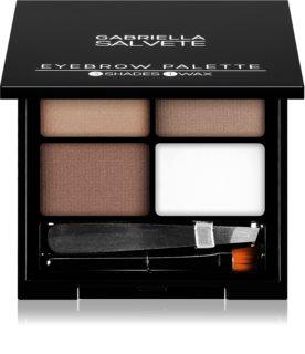 Gabriella Salvete Eyebrow Palette Set voor Perfecte Wenkbrauwen