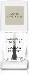 Gabriella Salvete Nail Care Glossy & Fast Dry rychleschnoucí vrchní lak na nehty