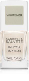 Gabriella Salvete Nail Care White & Hard Nail podkladový lak na nechty so spevňujúcim účinkom