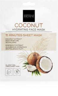 Gabriella Salvete Face Mask Coconut Moisturising face sheet mask