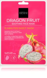 Gabriella Salvete Face Mask Dragon Fruit Calming Face Sheet Mask