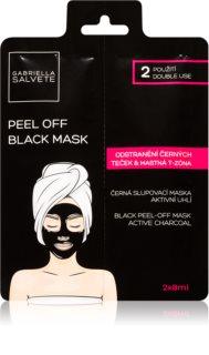 Gabriella Salvete Face Mask Black Peel Off Musta Peel-off Naamio Kasvoille