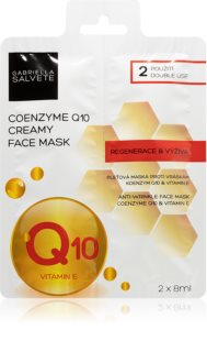 Gabriella Salvete Face Mask Coenzyme Q10 Regenerating Mask with Anti-Wrinkle Effect