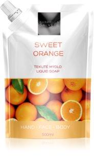 Gabriella Salvete Liquid Soap Sweet Orange savon liquide visage, mains et corps