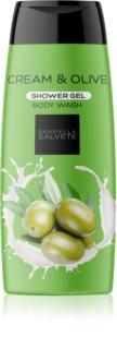 Gabriella Salvete Shower Gel Cream & Olive Silky Shower Gel For Women