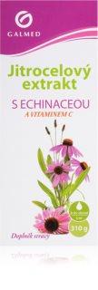 Galmed Jitrocel + echinacea a vit. C bylinný sirup usnadňující vykašlávání při zánětech horních cest dýchacích
