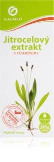 Galmed Jitrocel s vit. C bylinný sirup na podporu léčby zánětů horních cest dýchacích