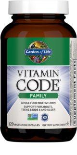 Garden of Life RAW Vitamin Code Family komplexní multivitamín