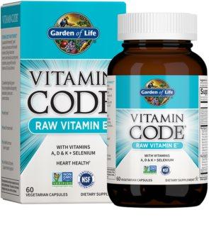 Garden of Life Vitamin Code Vitamin E + A, D, K + Selenium komplex minerálů a vitamínů