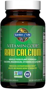 Garden of Life Vitamin Code RAW Vápník podpora normálního stavu kostí a zubů