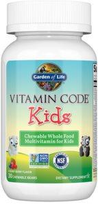 Garden of Life Vitamin Code RAW Kids komplexní multivitamín  pro děti