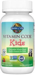 Garden of Life Vitamin Code Kids komplexní multivitamín  pro děti