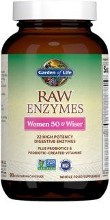 Garden of Life RAW Enzymy pro ženy po padesátce doplněk stravy  pro ženy 50+