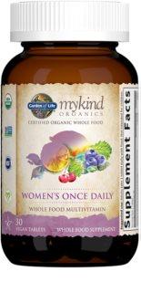 Garden of Life Mykind Organics Women's Once Daily Multi komplexní multivitamín  pro ženy