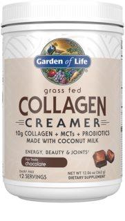 Garden of Life Collagen Creamer kolagen s probiotiky příchuť chocolate