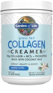 Garden of Life Collagen Creamer kolagen s probiotiky příchuť vanilla
