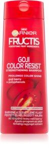 Garnier Fructis Goji Color Resist shampoing fortifiant pour cheveux colorés