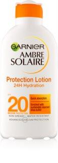 Garnier Ambre Solaire vlažilni losjon za sončenje SPF 20