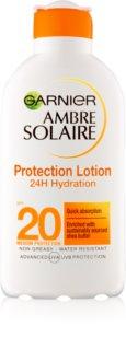 Garnier Ambre Solaire хидратиращо мляко за тен SPF 20