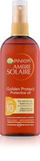 Garnier Ambre Solaire Golden Protect aceite bronceador SPF 10