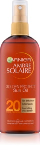 Garnier Ambre Solaire Golden Protect масло для загара SPF 20