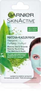 Garnier Skin Active maschera viso al caolino per pelli grasse e miste