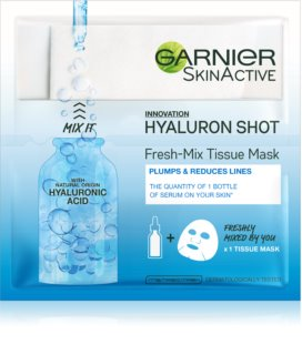 Garnier Skin Naturals Fresh Mix Mask Hyaluron Mask for Dry Skin
