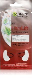 Garnier Skin Active Ultra Lift тканевая маска против морщин для области вокруг глаз