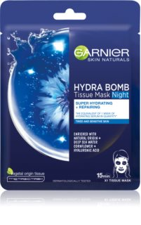 Garnier Skin Naturals Hydra Bomb nourishing face sheet mask Night