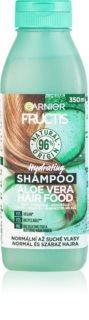 Garnier Fructis Aloe Vera Hair Food hydratačný šampón pre normálne až suché vlasy
