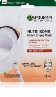 Garnier Skin Naturals Nutri Bomb nourishing face sheet mask