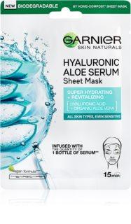 Garnier Skin Naturals Hyaluronic Aloe mască textilă hidratantă