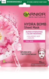 Garnier Skin Naturals Hydra Bomb φύλλο μάσκας με επίδραση την φωτεινότητα