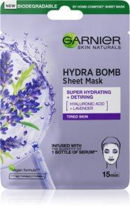 Garnier Hydra Bomb plátenná maska s vysoko hydratačným a vyživujúcim účinkom