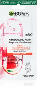 Garnier Skin Naturals Ampoule Sheet Mask plátýnková maska s hydratačním a revitalizačním účinkem