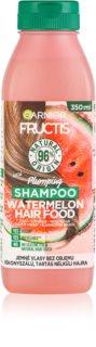 Garnier Fructis Watermelon Hair Food Shampoo voor Fijn en Futloos Haar