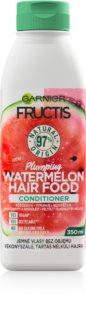 Garnier Fructis Watermelon Hair Food conditioner voor het volume van fijn haar
