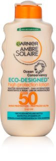 Garnier Ambre Solaire Eco-Designed Protection Lotion krem do opalania z filtrami UVA i UVB